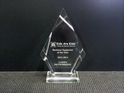 Kids are Kids! award for Lakes